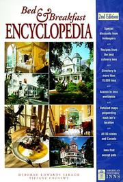 Cover of: Bed & breakfast encyclopedia