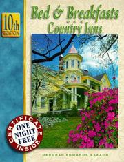 Cover of: Bed & Breakfasts and Country Inns (Bed & Breakfasts & Country Inns)
