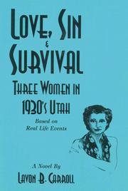 Cover of: Love, sin & survival