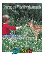 Cover of: Sharing The World With Animals (Zoobooks Series) | Ann Elwood