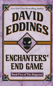 Cover of: Enchanters' End Game (The Belgariad, Book 5)
