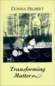 Cover of: Transforming matter