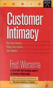 Cover of: Customer Intimacy