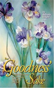 Cover of: For Goodness