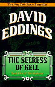 Cover of: Seeress of Kell (Malloreon (Paperback Random House))