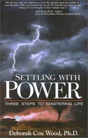 Cover of: Settling with power