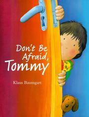 Cover of: Don't be afraid, Tommy