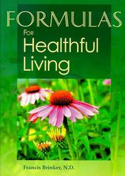 Cover of: Formulas for healthful living
