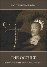 Cover of: occult in nineteenth-century America |