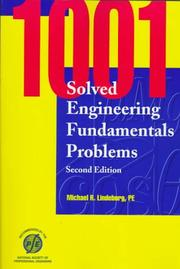 Cover of: 1001 solved engineering fundamentals problems