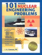 Cover of: 101 solved nuclear engineering problems