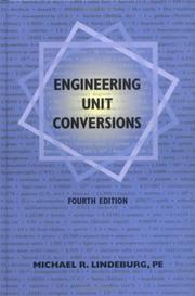 Cover of: Engineering unit conversions