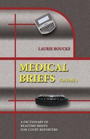 Cover of: Medical briefs | Laurie Boucke