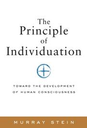 Cover of: Principle of Individuation