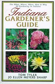 Cover of: Indiana Gardener