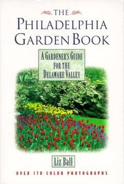 Cover of: The Philadelphia garden book