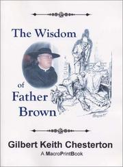 Cover of: The Wisdom of Father Brown | G. K. Chesterton