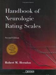 Cover of: The Handbook of Neurlogic Rating Scales
