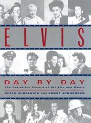 Cover of: Elvis Day by Day | Peter Guralnick