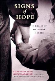Cover of: Signs of hope |