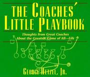 Cover of: The coaches' little playbook | [compiled by] George Hetzel, Jr.