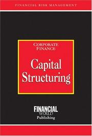 Cover of: Capital structuring