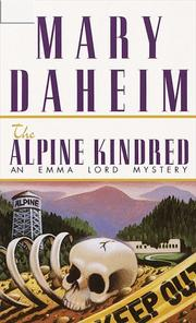 Cover of: The Alpine Kindred | Mary Daheim