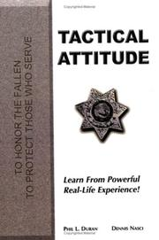 Cover of: Tactical Attitude | Phil L. Duran