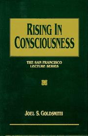 Cover of: Rising in consciousness