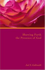 Showing Forth The Presence Of God (Letters)