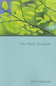 Cover of: The Only Freedom