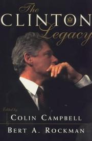 Cover of: The Clinton legacy