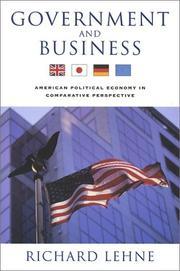 Cover of: Government and Business | Richard Lehne