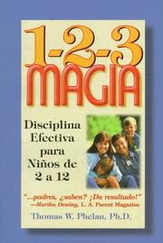 Cover of: 1-2-3 Magia
