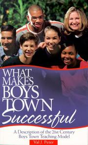 Cover of: What Makes Boys Town Successful