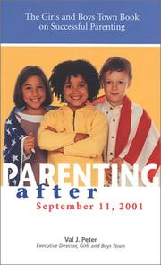 Cover of: Parenting after September 11, 2001