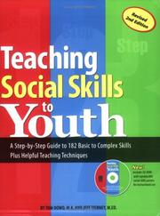 Teaching social skills to youth by Tom Dowd