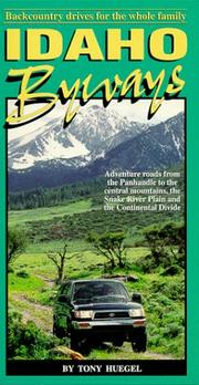 Cover of: Idaho byways