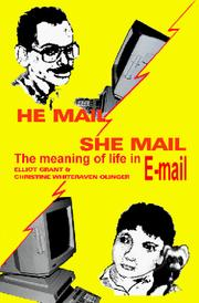Cover of: He Mail / She Mail | Elliot Grant