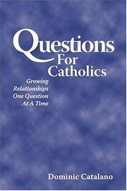 Cover of: Questions for Catholics