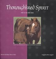 Cover of: Thoroughbred spirit | Betsy Sikora Siino