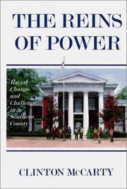Cover of: The reins of power