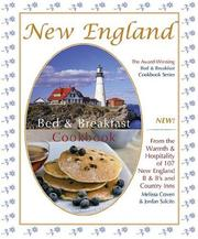 Cover of: New England Bed & Breakfast Cookbook | Melissa Craven