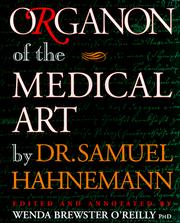 Cover of: Organon of the medical art