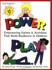 Cover of: Power Play | Kathy Cooper
