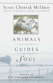 Cover of: Animals as guides for the soul