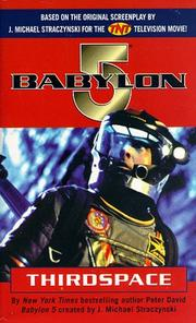 Cover of: Thirdspace (Babylon 5)