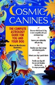 Cover of: Cosmic canines