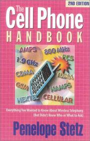 The cell phone handbook by Penelope Stetz