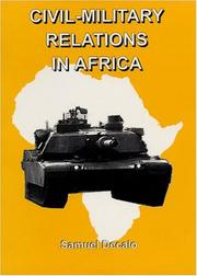 Cover of: Civil-military relations in Africa